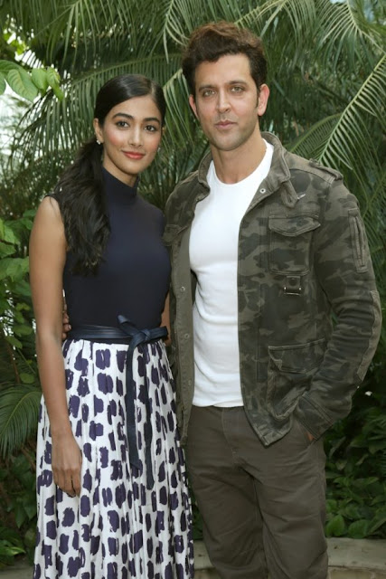 Hrithik and Pooja Hegde