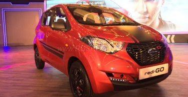 Datsun redi-GO Sport Limited Edition hd image