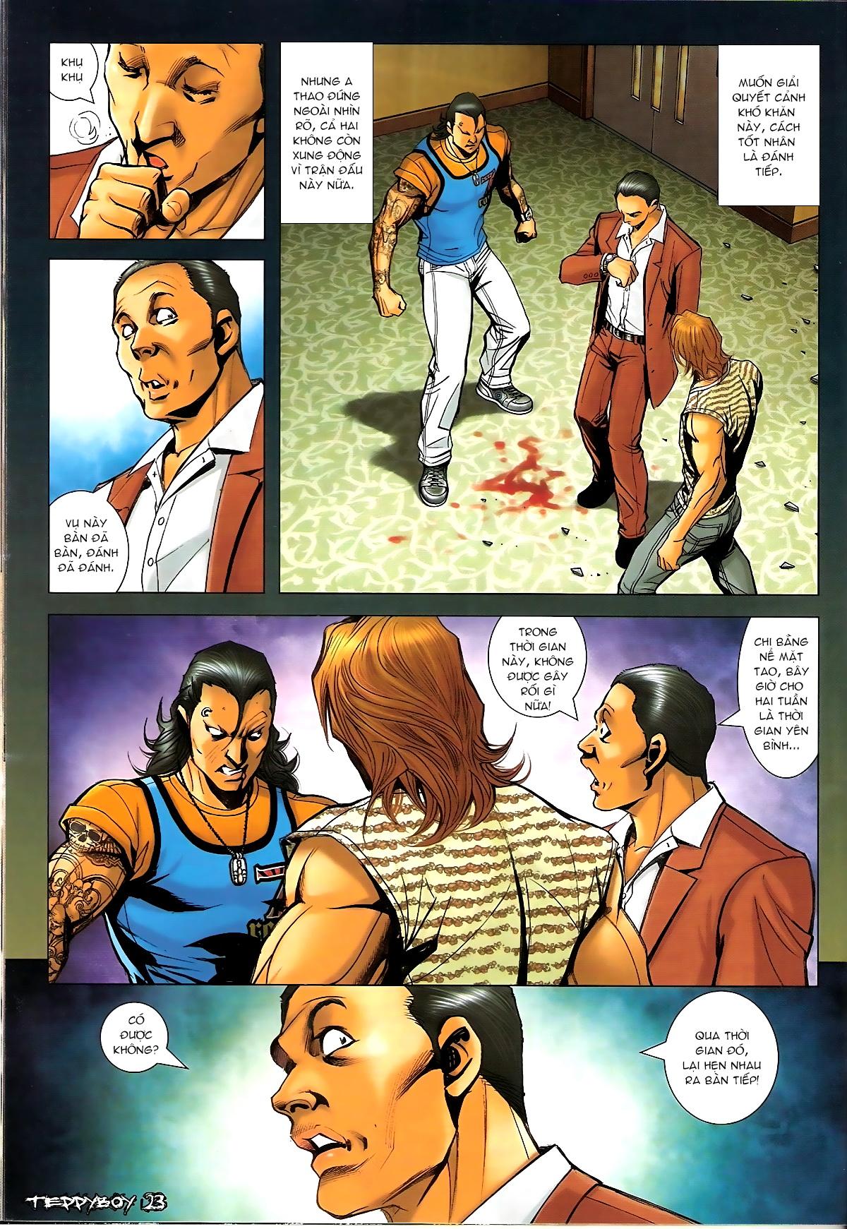 Người Trong Giang Hồ - Chapter 1332: Chiêu gia Tam Liên - Pic 18