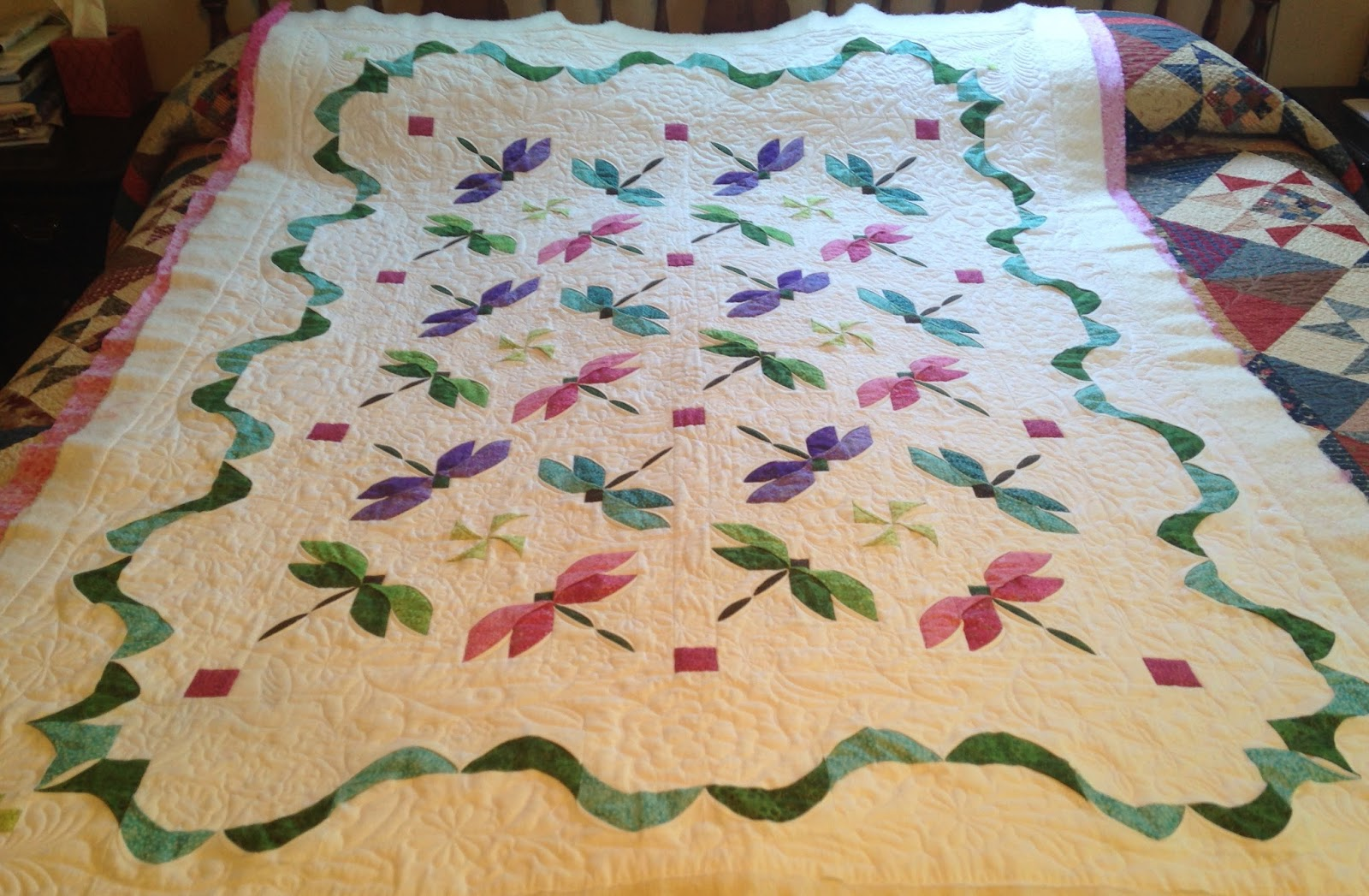 QUILTS AND SUCH: Another Dragonfly Quilt! : dragonfly quilt - Adamdwight.com