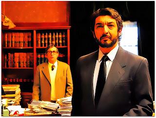 Pablo Sandoval (Guillermo Francella) e Benjamin Esposito (Ricardo Darín) (O Segredo dos Seus Olhos)