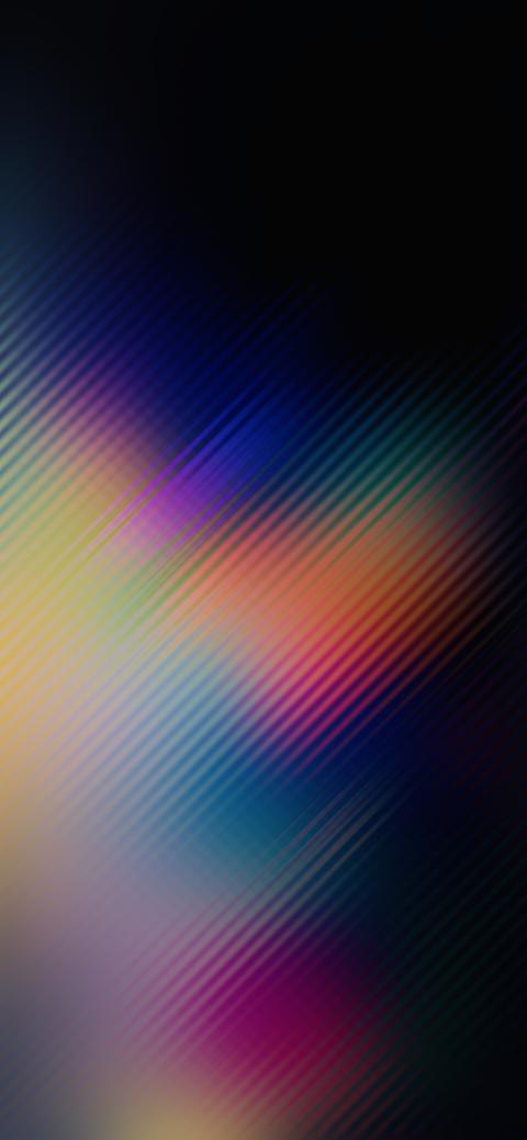 Multicolors Blur (iPhone X)