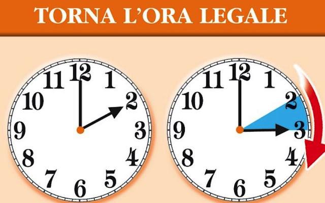 Ora legale 2019, lancette avanti di un'ora nella notte tra il 30 e il 31 marzo. Alcuni consigli…