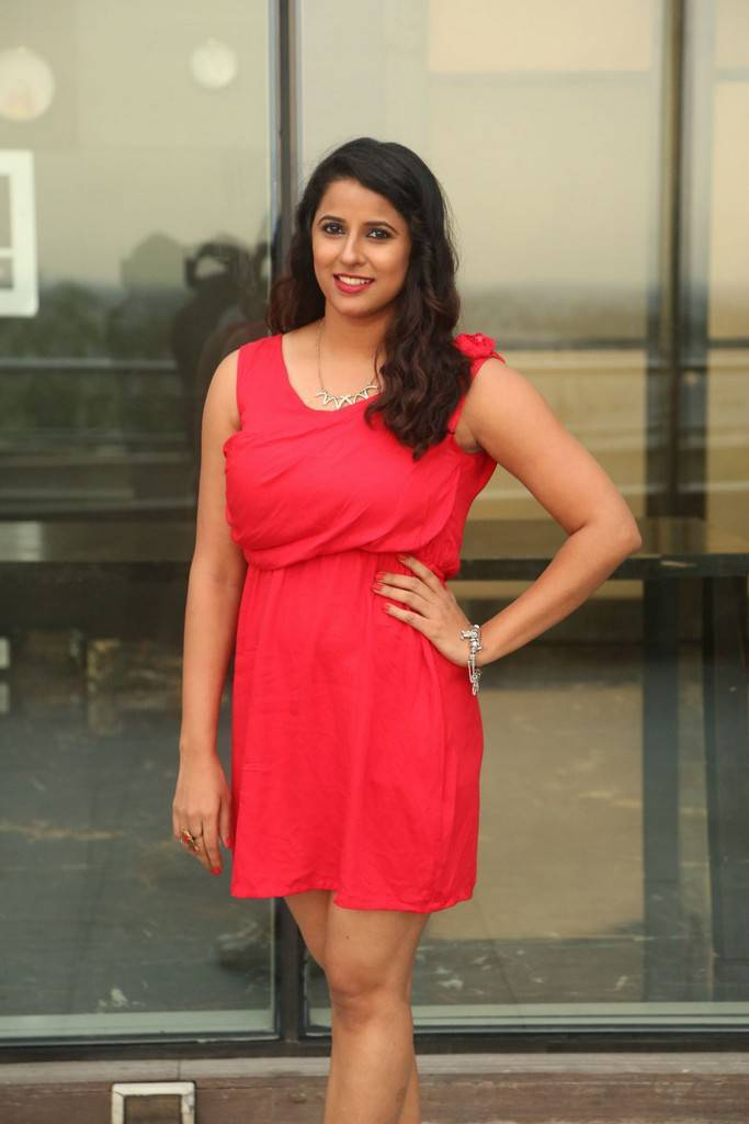Shravya Reddy At Kaadhali Movie Audio Launch Gallery