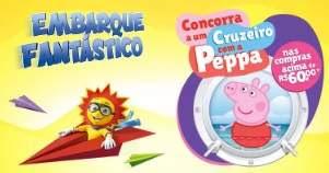 Promoção Ri Happy Embarque Fantástico Cruzeiro Peppa Pig