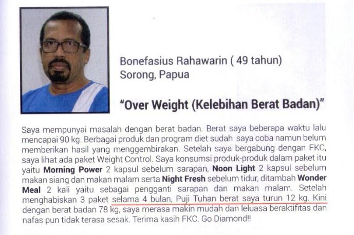 Bisnis Fkc Syaria - Reward Bonefasius Rahawarin