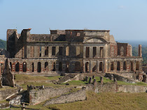 Sans Souci Palace, 3.5 miles below the base of The Citadel, Haiti
