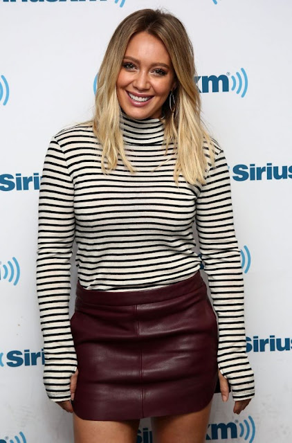 Hilary Duff At Siriusxm Studios In New York