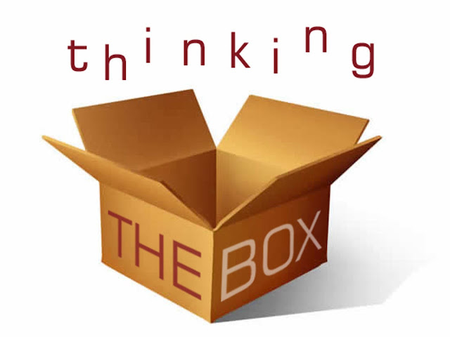 Ilustrasi thinking out of the box.. http://vimeo.com/35865434