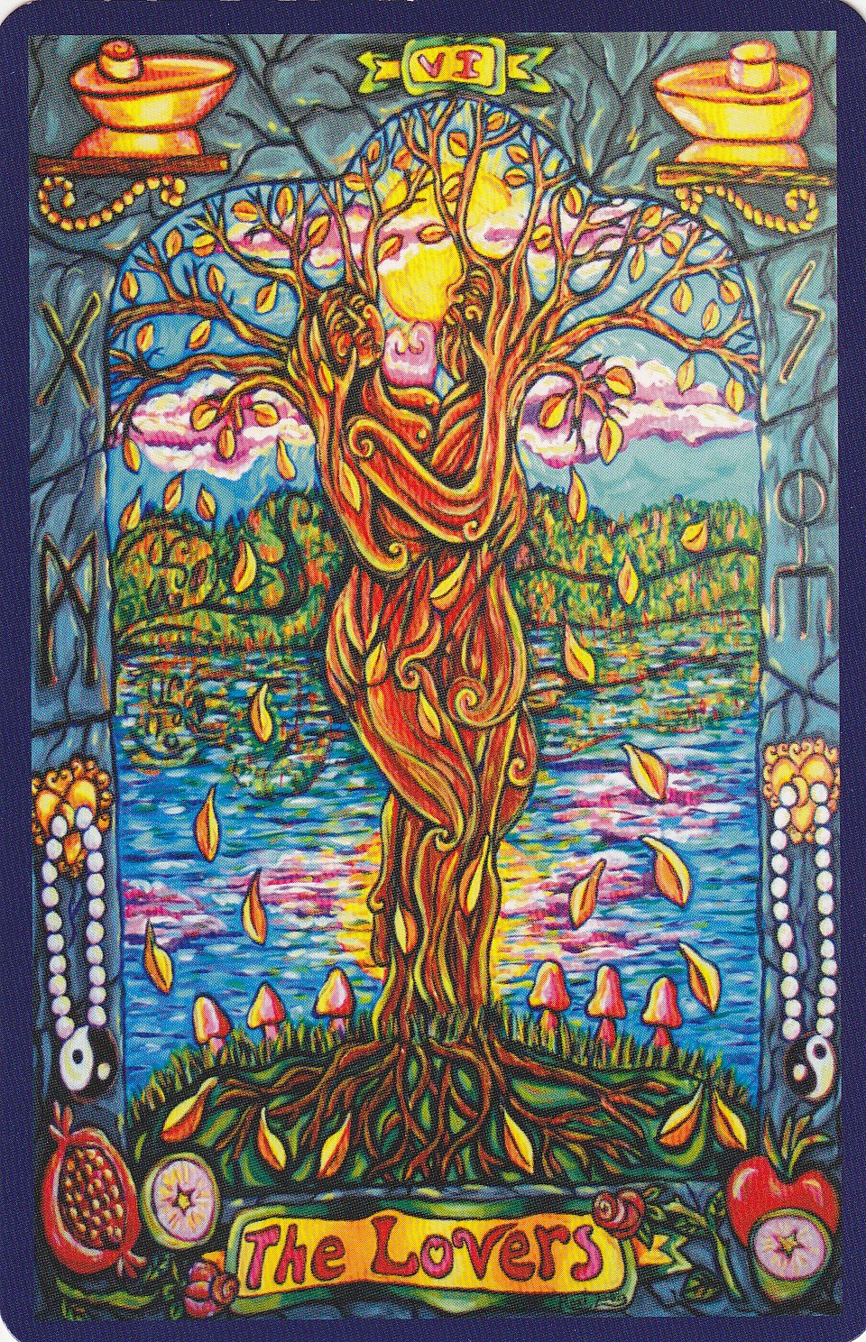 Rowan Tarot December 2012: Rowan Tarot: One Plus One Is One?