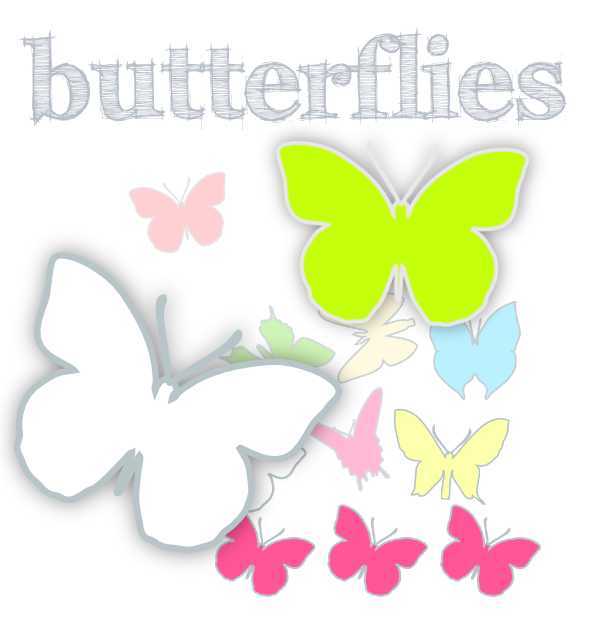 Free Digital Butterfly Png S Border Digi Stamps And Diy