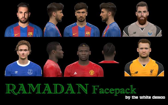 PES 2017 Ramadan Facepack By The White Demon