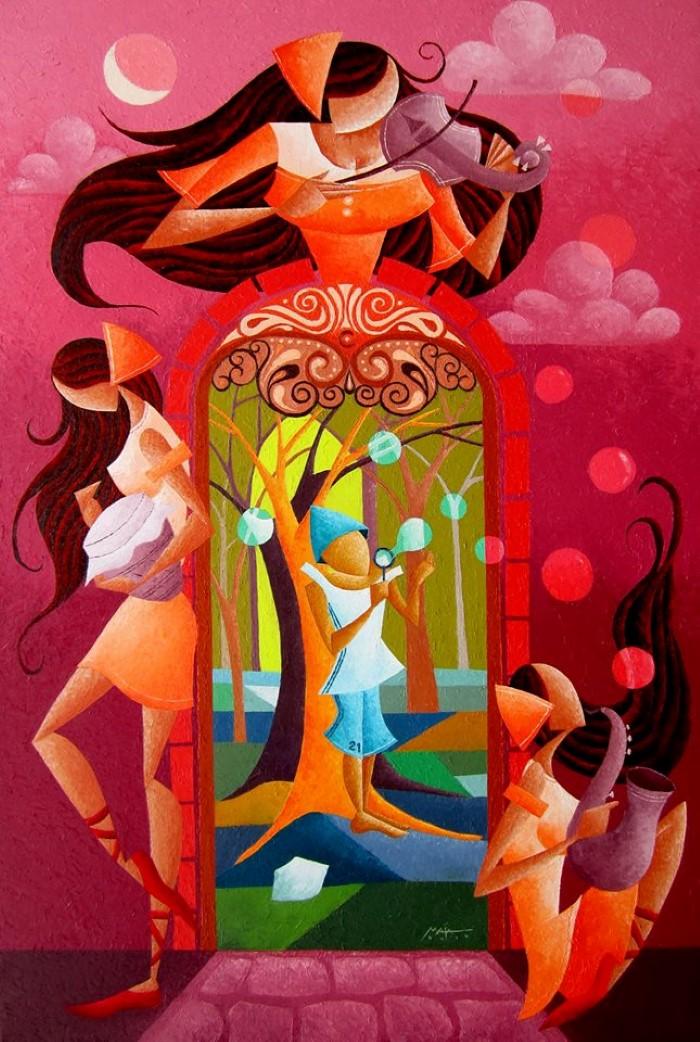 Филиппинский художник