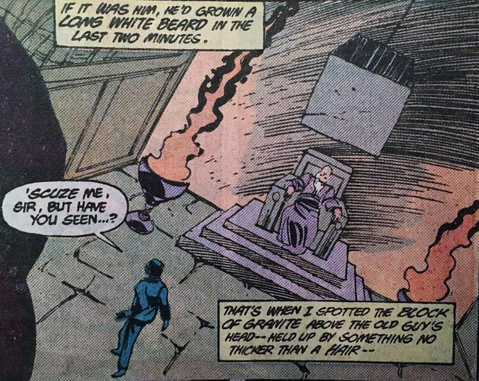 Chris is on Infinite Earths: Shazam! The New Beginning #1 (1987)