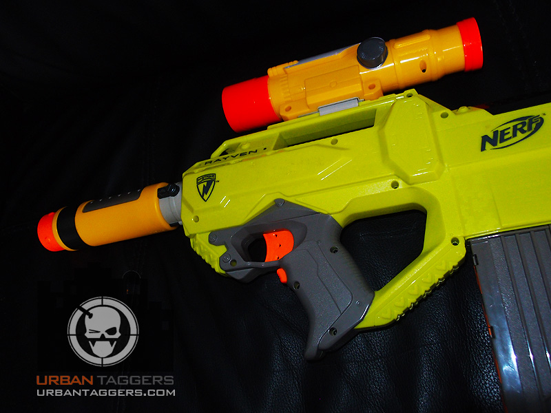 Urban Taggers Nerf N Strike Rayven Cs 18 With Spectre