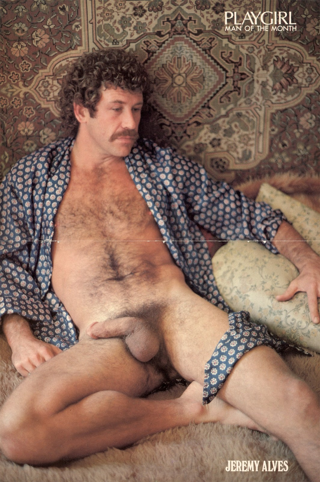 ron jeremy picture in playgirl