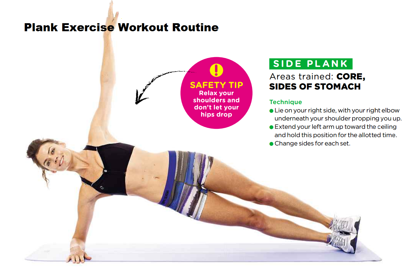 June 2013 | Plank Exercises Routine | Plank Variations