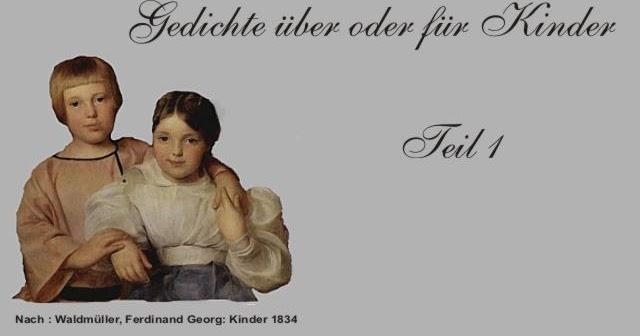Gedichte Und Zitate Fur Alle Gedichte Fur Und Uber Kinder 1