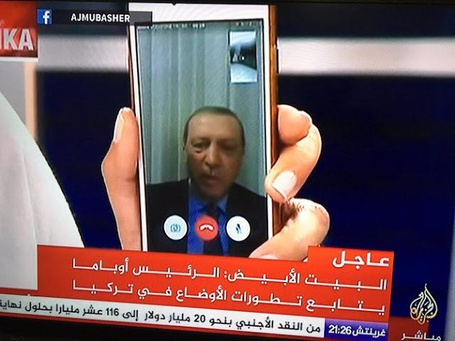 Erdogan bicara soal kudeta (c) 2016 Merdeka.com/Aljazeera