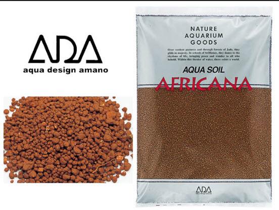 phân nền thủy sinh ADA Africana màu nâu đỏ