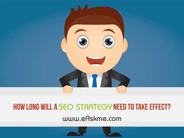 How Long Will a SEO Strategy Need to Take Effect?: eAskme