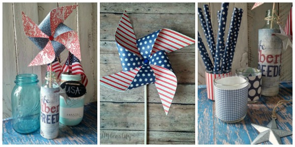 easy paper crafts for July 4th