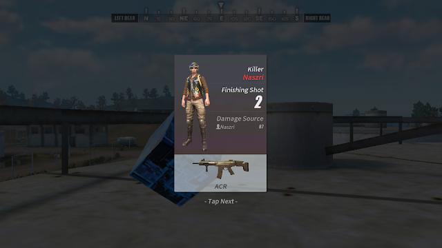 Informasi Player Kill di Rules of Survival