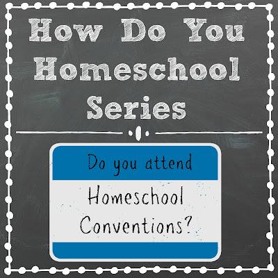 Do You Attend Homeschool Conventions? Part of the How Do You Homeschool Series on Homeschool Coffee Break @ kympossibleblog.blogspot.com