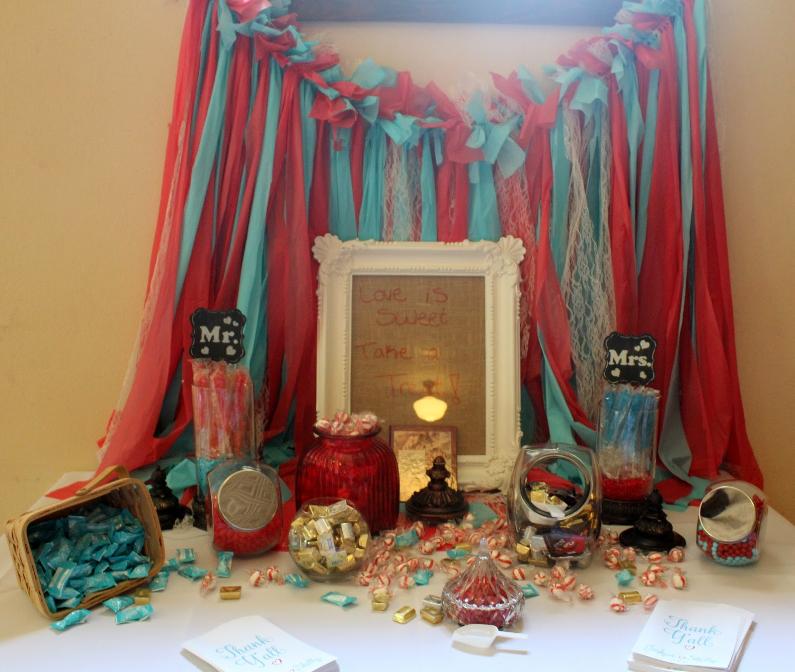Turquoise And Red Wedding Ideas: Southern Blue Celebrations: RUSTIC RED & TURQUOISE WEDDING