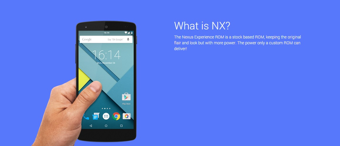 Nexus 5 Experience ROM