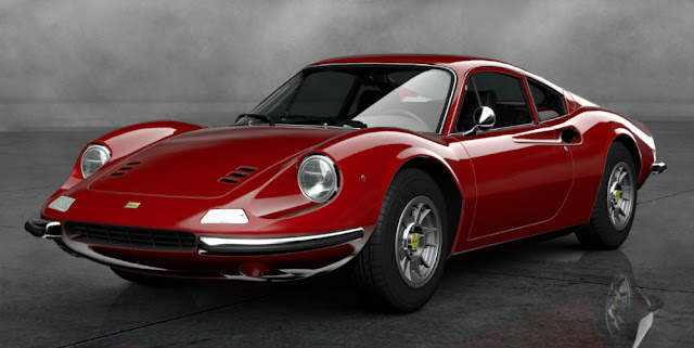 Ferrari Dino 1960s Italian classic sports car