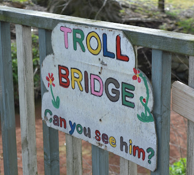 Tattershall Farm Park - A review - troll bridge