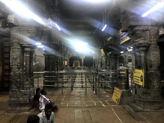 Brahmapureeswarar Temple Inside View