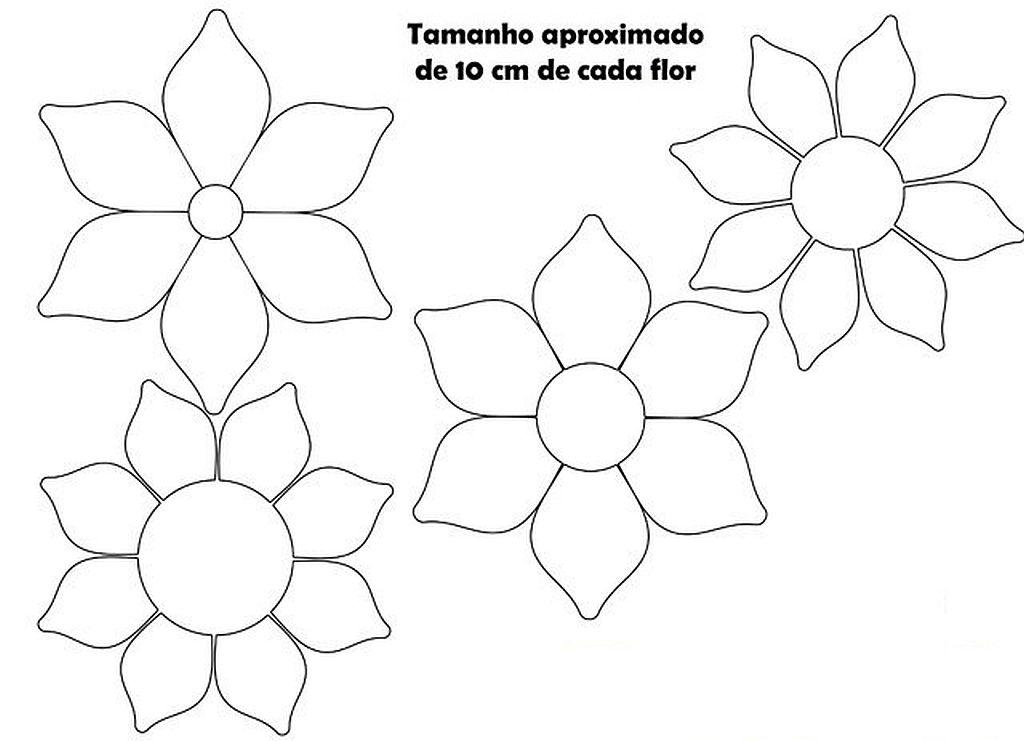 Moldes Frisadores Para Hacer Flores Con Goma Eva Plantillas Para - Plantillas-para-hacer-flores-de-goma-eva