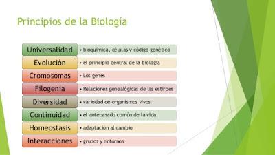Principios de la biología