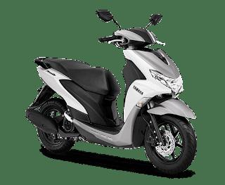 Yamaha FreeGo 125 Mettalic White