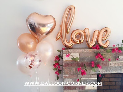 Balon Latex Metalik 12 Inch Warna Rose Gold (NEW COLOUR)