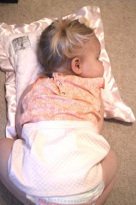 The softest luxe pillow from little giraffe
