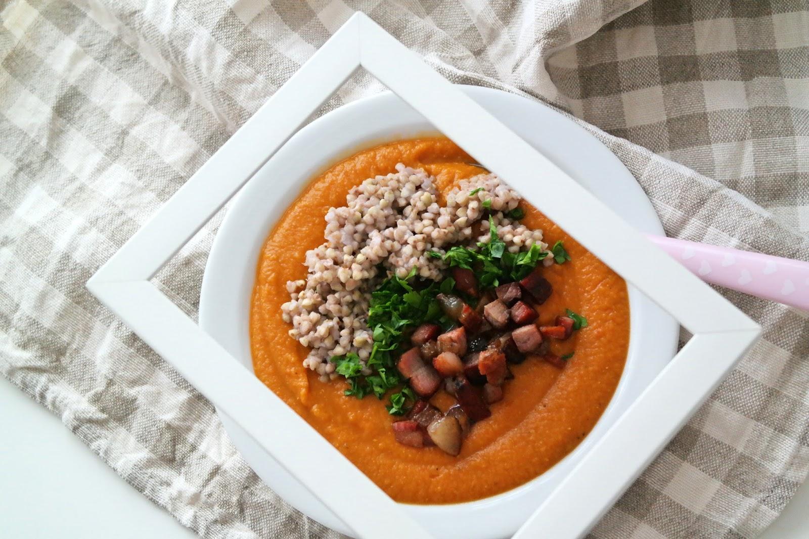 przepis na zupę krem z papryki