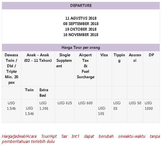 Harga Paket Tour Halal Eropa Barat Cheria Halal Holiday - Blog Mas Hendra
