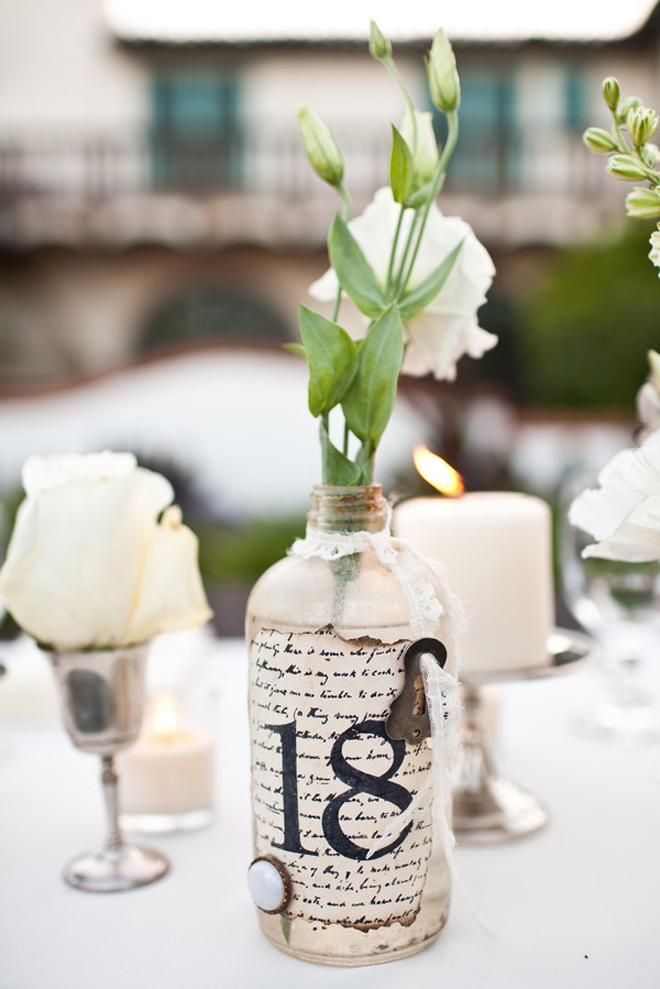 Wedding Table Number Galore Part 2 Belle The Magazine