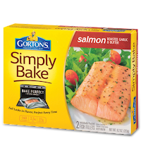 Gorton's Simply Bake Salmon Roasted Garlic & Butter