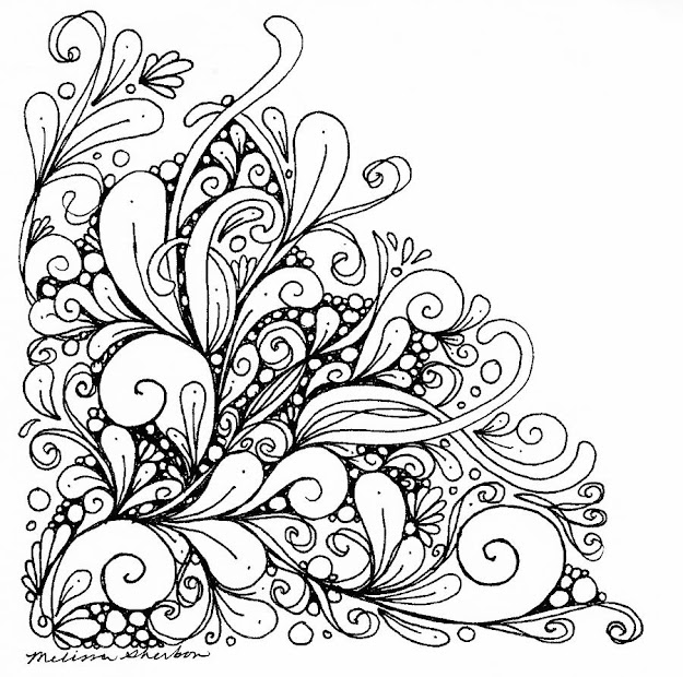 Flourish Drawing By Melissa Sherbon  Flourish Fine Art Prints And Posters  For Sale Guide Girly Mandala Coloring Pages