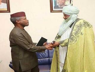 Emir Sanusi and Osinbajo