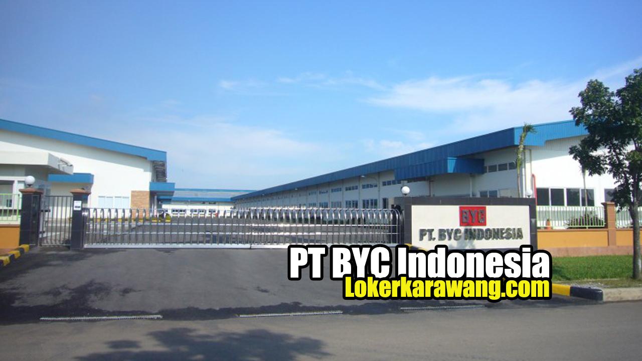 PT BYC Indonesia Karawang