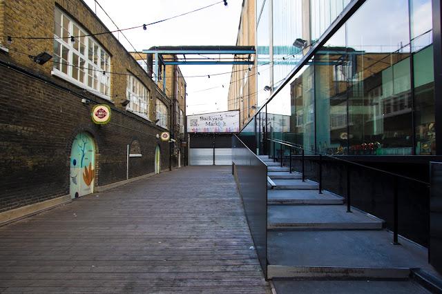 Ely's yard e Backyard market a Brik lane-Londra