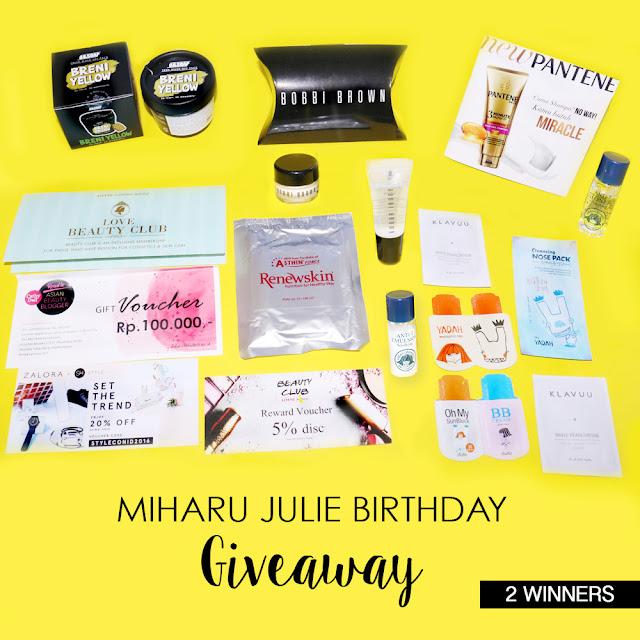 Miharu Julie Birthday Giveaway