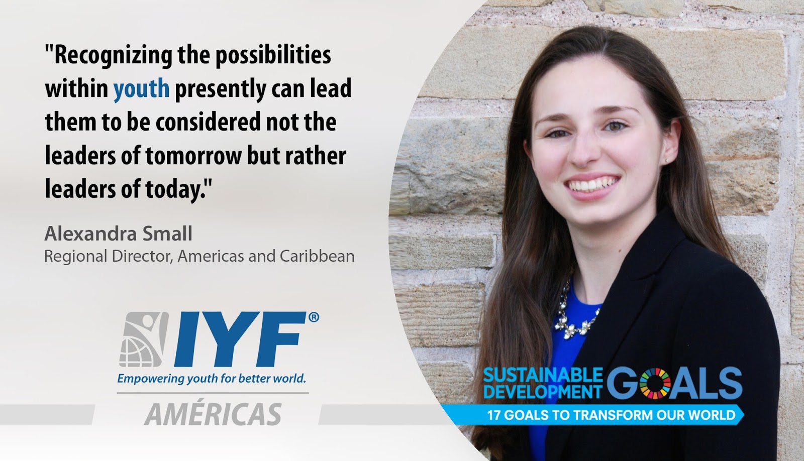 Alexandra Small, Regional Director for Americas & Caribbean