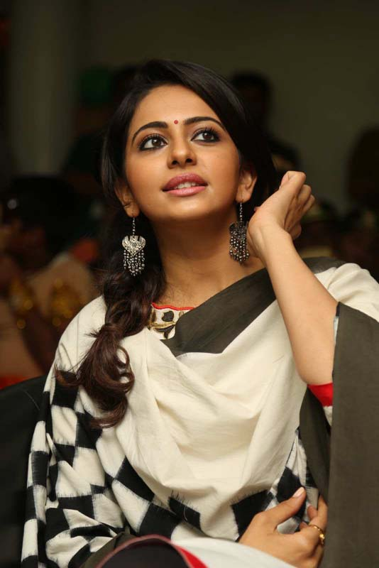 Rakul Preet Singh Photos In White Dress
