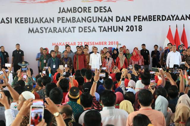 Jokowi Beberkan Hasil Pembangunan Infrastruktur dari Dana Desa